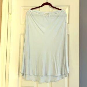 Vintage Ghost pale baby blue skirt